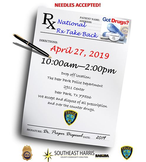 Drug Take Back - News ITem